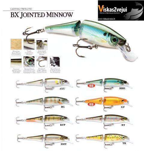 VOBLERIS BX JOINTED MINNOW