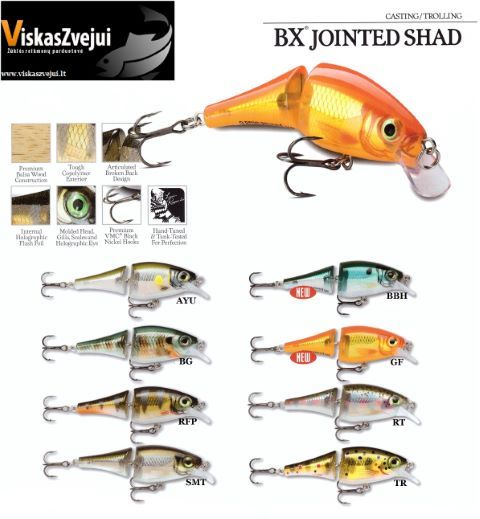 VOBLERIS BX JOINTED SHAD