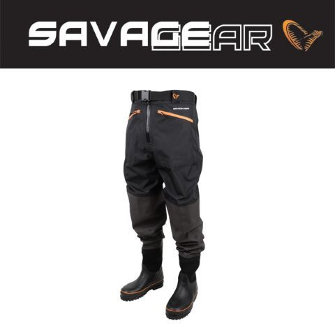 Breathable Waist Wader Boot/Cleated