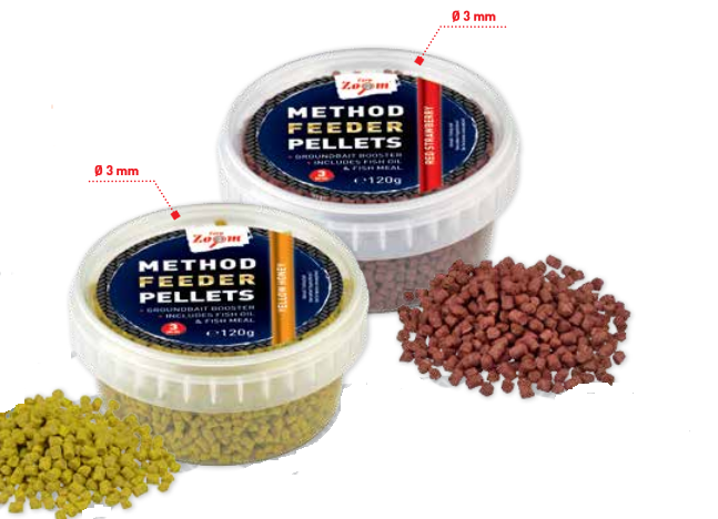 CarpZoom Method Feeder peletės