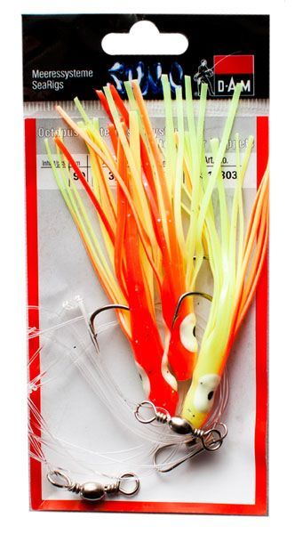 DAM OCTOPUS RIG Orange 90cm