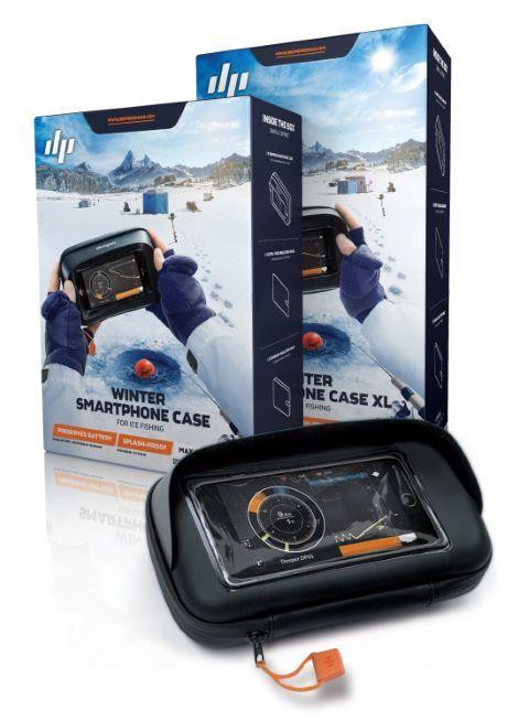 Dziļāka ziemas smartphones Case