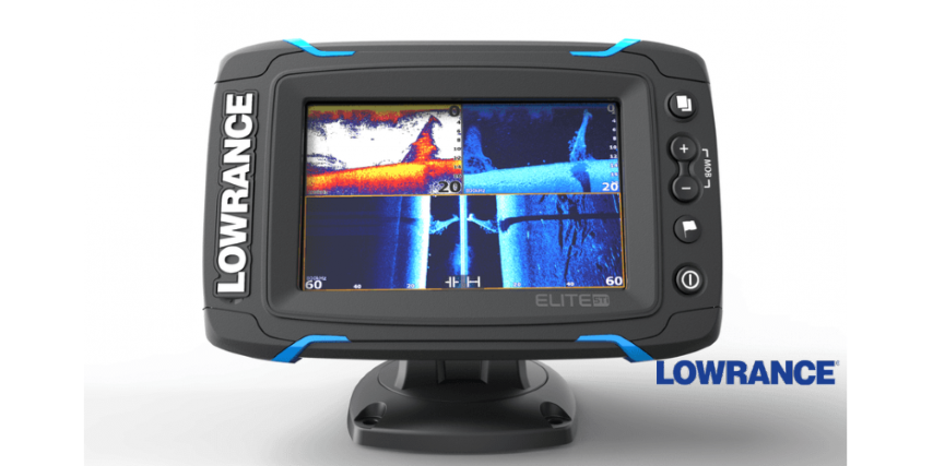 Echolotas Lowrance Elite-5 Ti Mid/High/DownScan