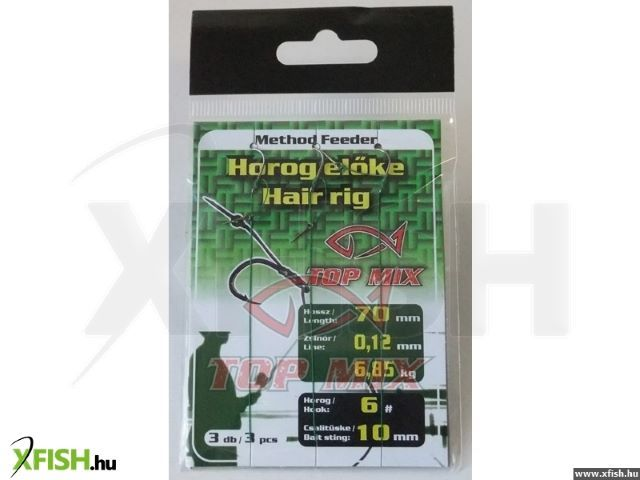 Kabliukai Method Feeder Hook Length with Bait Stig #4/10mm