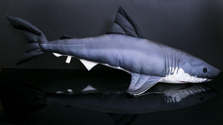 Soft plīša rotaļlieta Shark 120cm