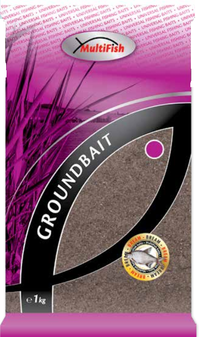 Pašaras CarpZoom Multifish Groundbaits 1 Kg