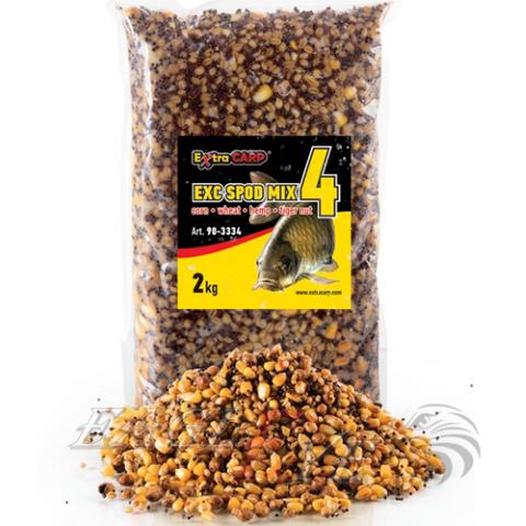 SPOD Mix kukurūza / kvieši / kaņepes / tigerwood Walnut