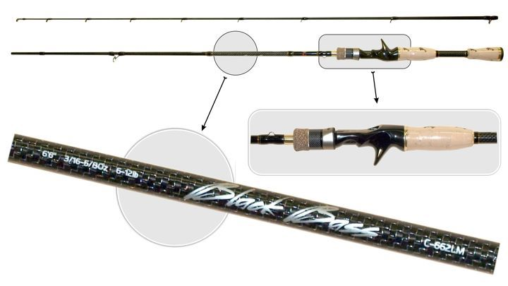 Spiningas SURF MASTER «BLACK BASS Cast TX-20»