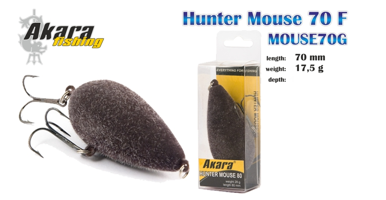 Žiurkė AKARA «Hunter Mouse»