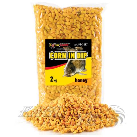 Swollen kukurūza, medus